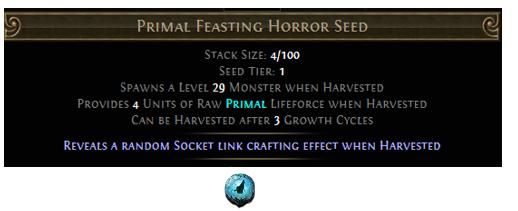 Primal Feasting Horror Seed