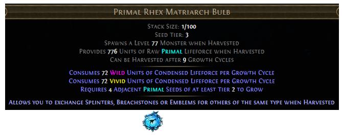 Primal Rhex Matriarch Bulb