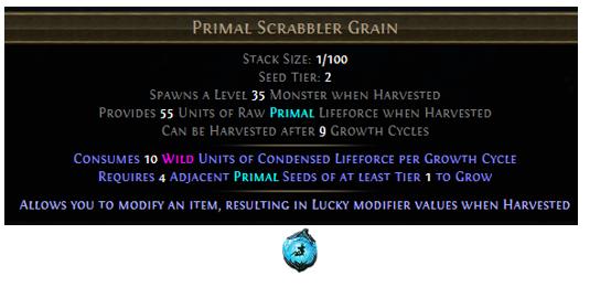 Primal Scrabbler Grain