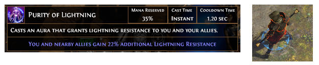Purity of Lightning