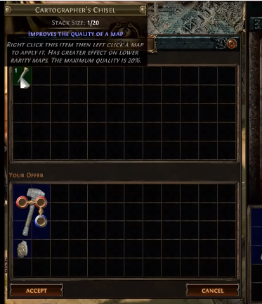 Poe Rock Breaker Vendor Recipe