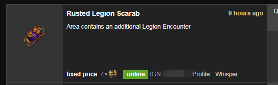 Rusted Legion Scarab