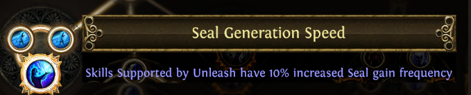 Seal Generation Speed