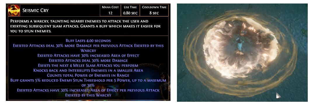 Seismic Cry Builds