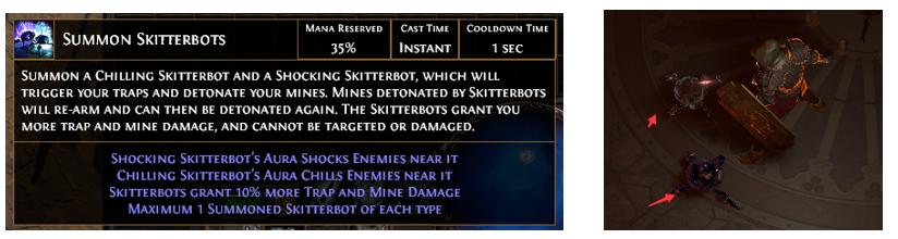 Summon Skitterbots