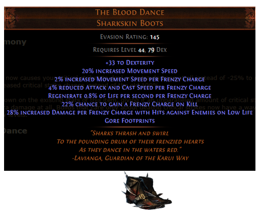 The Blood Dance