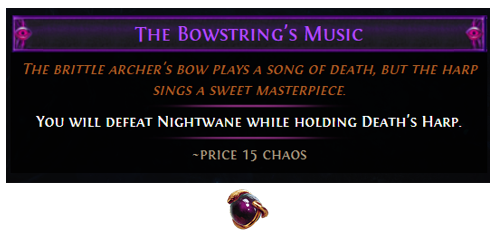The Bowstring's Music