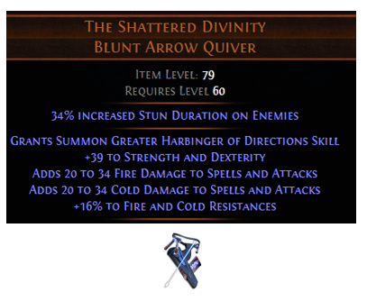 The Shattered Divinity