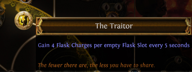 The Traitor Keystone