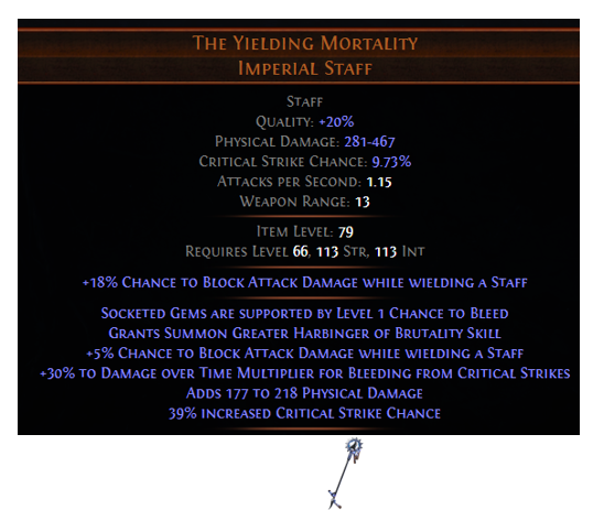 The Yielding Mortality