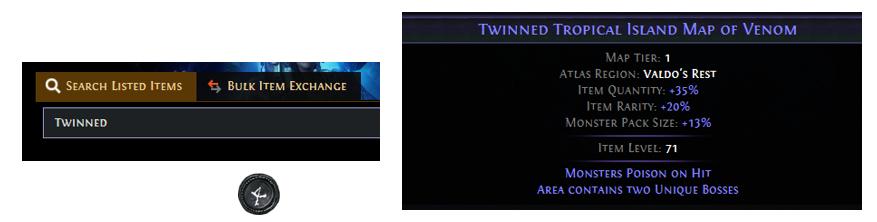 Twinned Maps