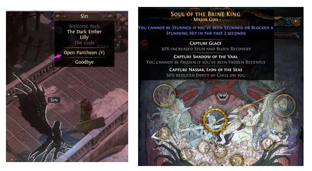 unlock the pantheon