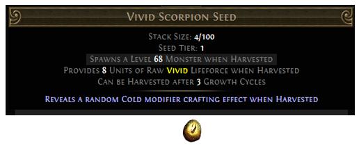 Vivid Scorpion Seed