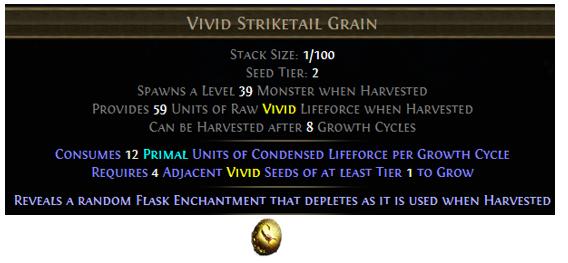 Vivid Striketail Grain
