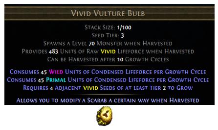 Vivid Vulture Bulb