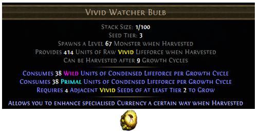 Vivid Watcher Bulb