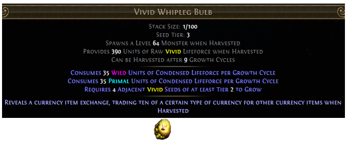 Vivid Whipleg Bulb