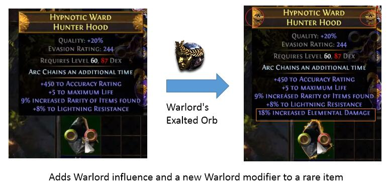 Warlord's Exalted Orb