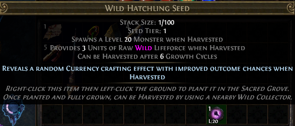 Wild Hatchling Seed