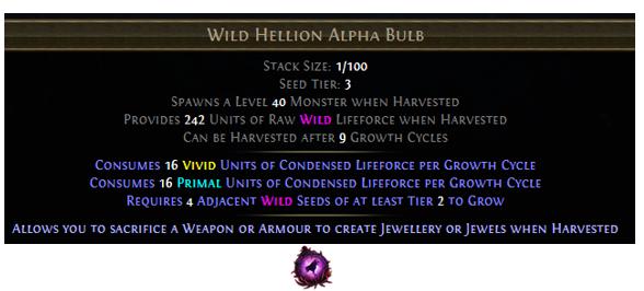 Wild Hellion Alpha Bulb