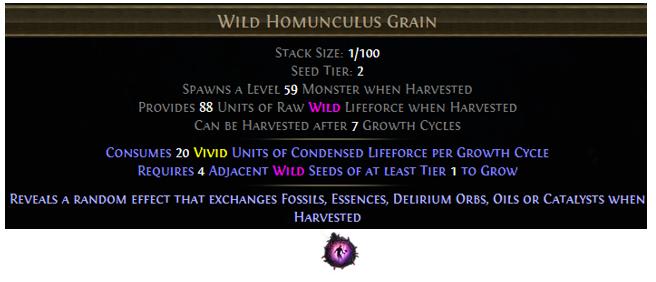 Wild Homunculus Grain