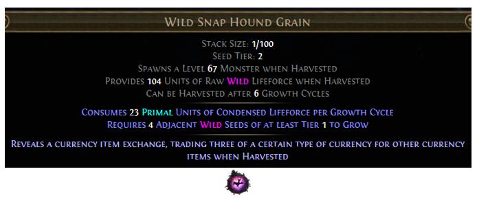 Wild Snap Hound Grain
