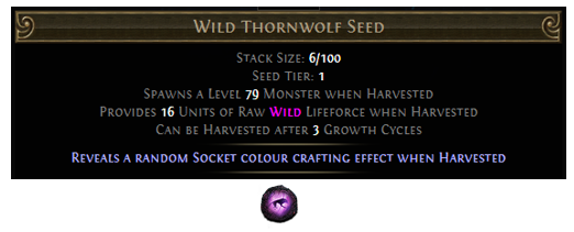 Wild Thornwolf Seed