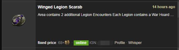 Winged Legion Scarab
