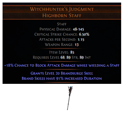 Witchhunter's Judgment