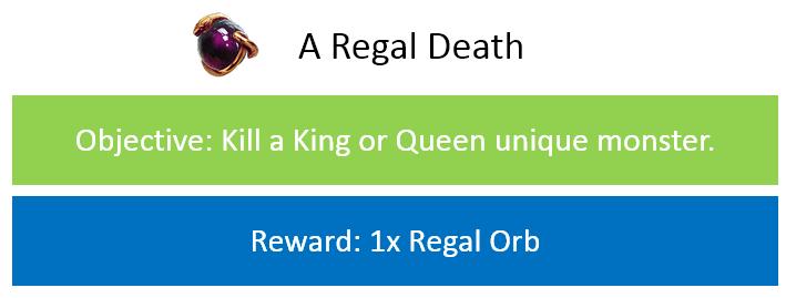A Regal Death
