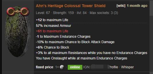 Ahn's Heritage Price