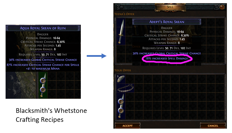 Blacksmith's Whetstone Crafting Recipe