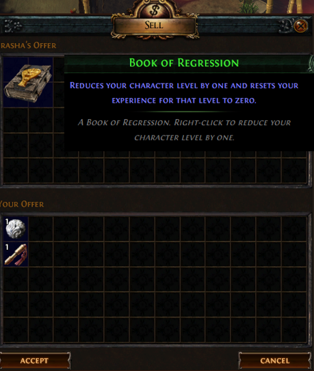 Scroll Of Wisdom Farming Poe Vendor Recipes Path Of