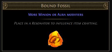Bound Fossil