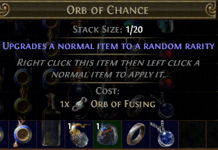 Buy Orb of Chance