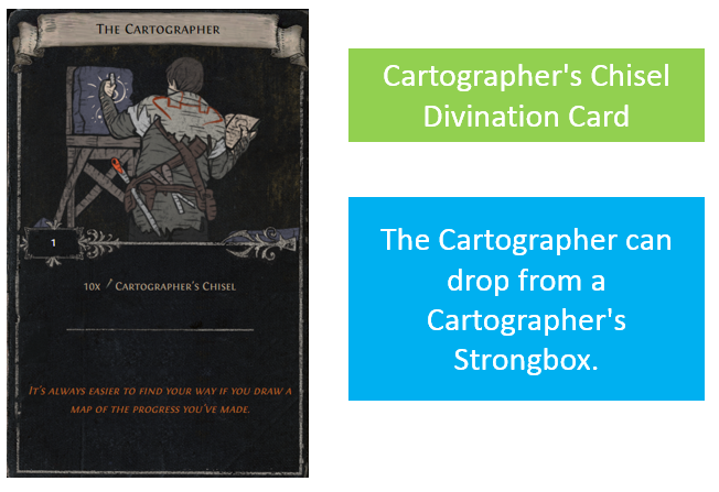 Cartographer's Chisel Divination Card
