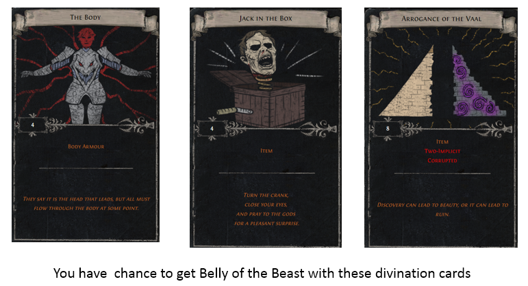 Belly of the Beast Divination Card2