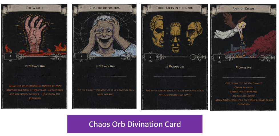 Chaos Orb Divination Card