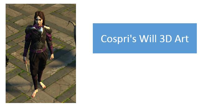 Cospri's Will 3D Art