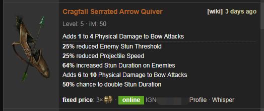 Cragfall Price