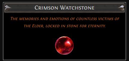 Crimson Watchstone