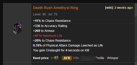 Death Rush Price
