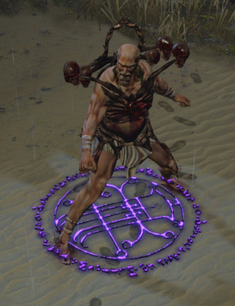 Death's Oath 3D Art