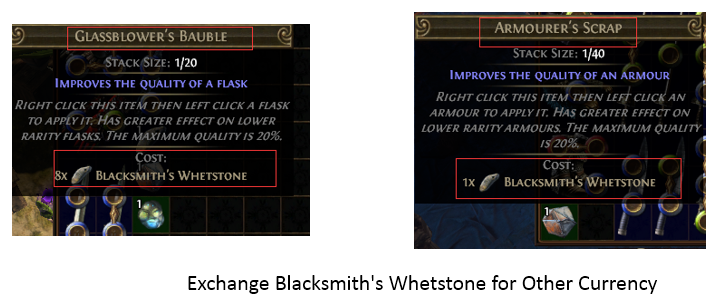 Exchange Blacksmith's Whetstone