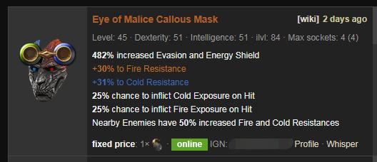 Eye of Malice