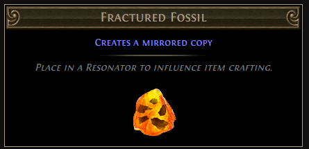 Fractured Fossil