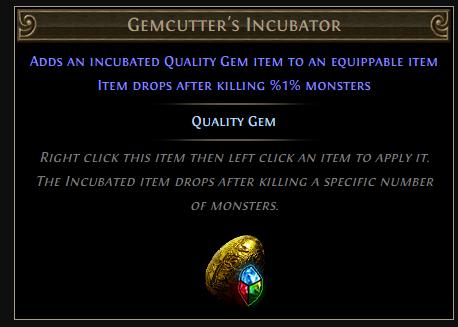 Gemcutter's Incubator