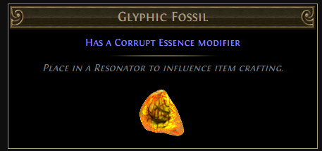 Glyphic Fossil
