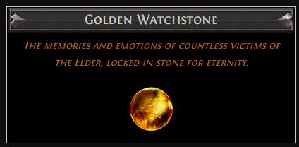 Golden Watchstone