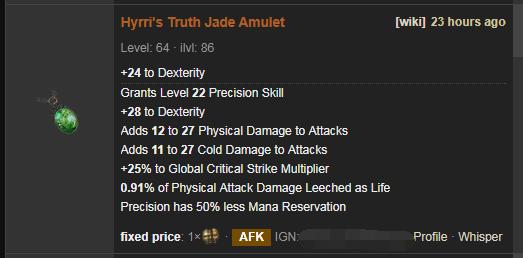 Hyrri's Truth Price